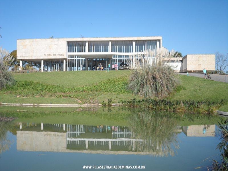 Foto: Museu de arte da Pampulha em Belo Horizonte