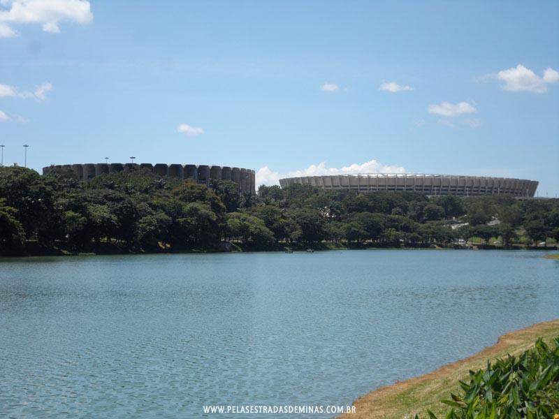 Foto: Estádio Governador Magalhães - Mineirão e Ginásio do Mineirinho