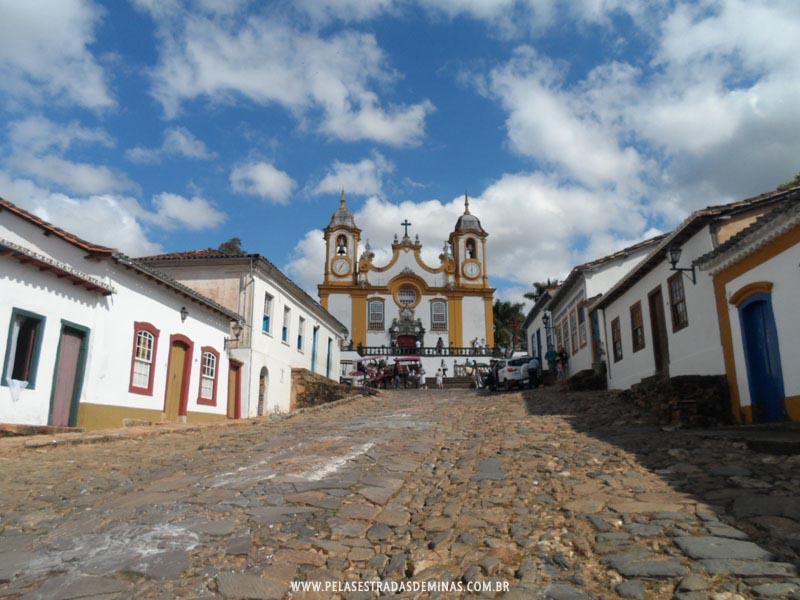 Rua de acesso a Igreja Matriz de Santo Antônio