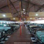 Interior do Museu do Automóvel da Estrada Real