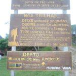 Acesso a Trilha Serra de São José em Tiradentes