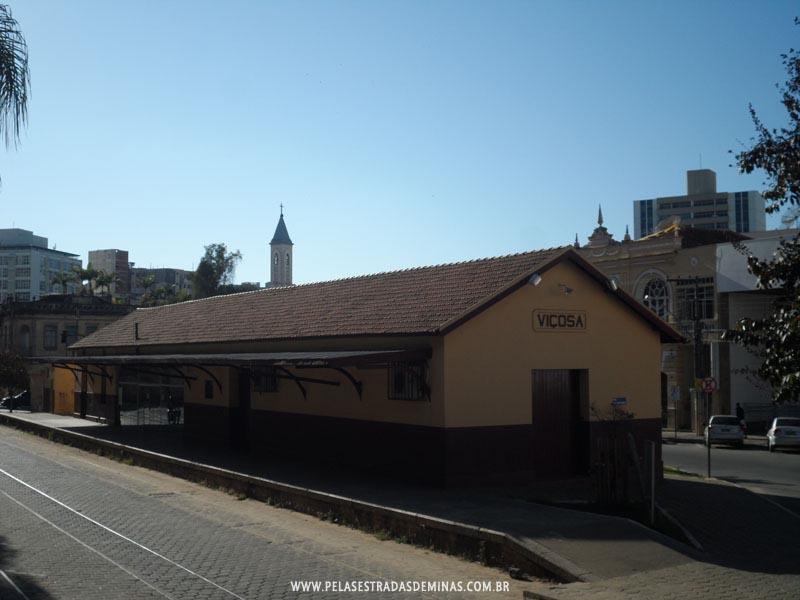 Estação Cultural - Antiga Estação Ferroviária de Viçosa
