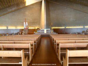 Interior da Igreja Nova das Romarias - Serra da Piedade - Caeté