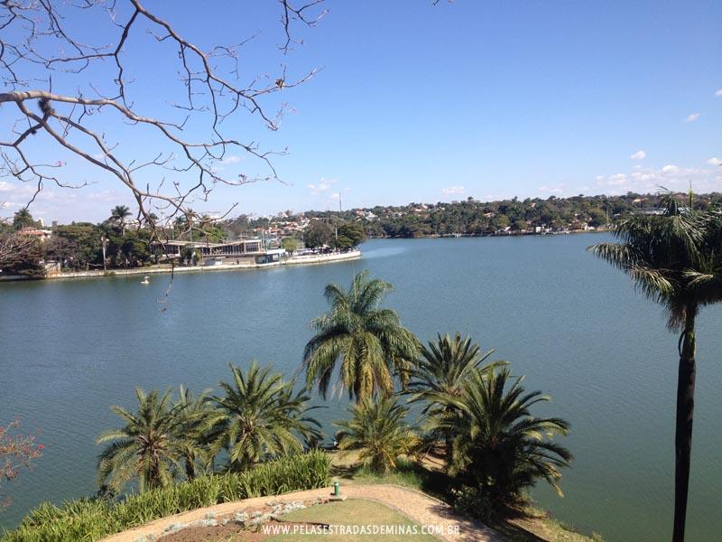 Foto: Vista da Lagoa da Pampulha em BH