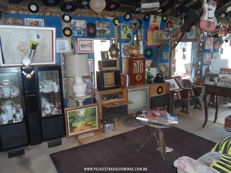 Foto: Interior do Museu Jeca Tatu