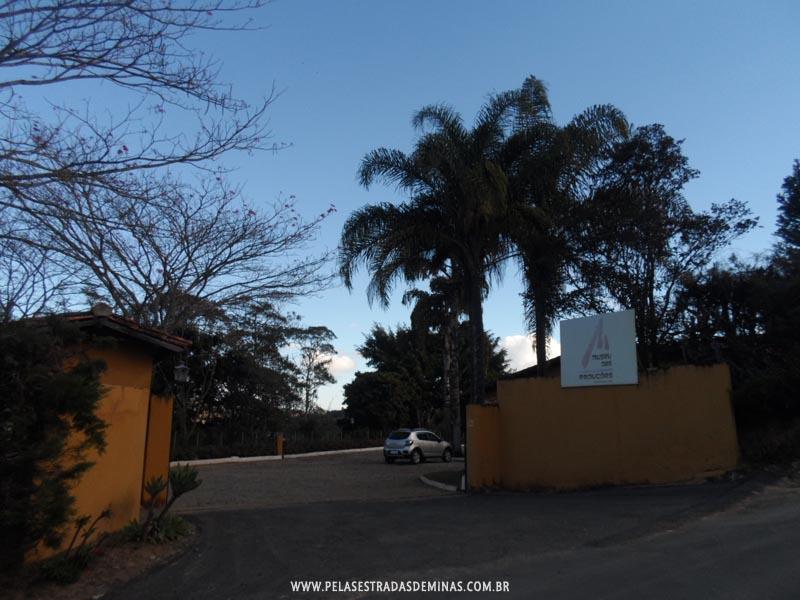 Entrada do Museu das Reduções em Amarantina -Ouro Preto - MG