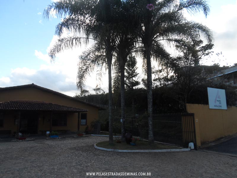 Área Externa do Museu das Reduções em Amarantina -Ouro Preto - MG