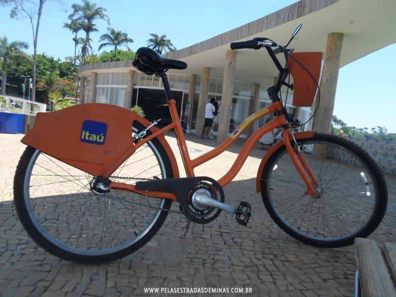 Foto: Bicicleta do projeto Bike BH do Itaú