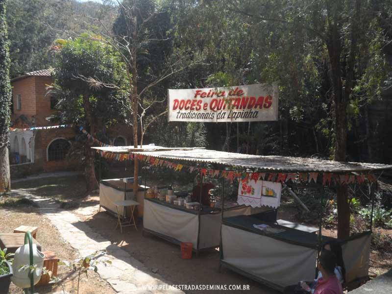 Foto: Feira de Doces e Quitandas - Gruta da Lapinha