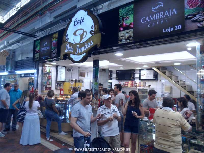 Foto: Café Dois Irmãos - Mercado Central - BH