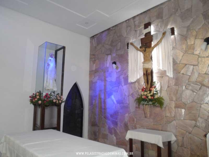 Foto: Altar Capela de Nossa Senhora de Fátima - Mercado Central BH