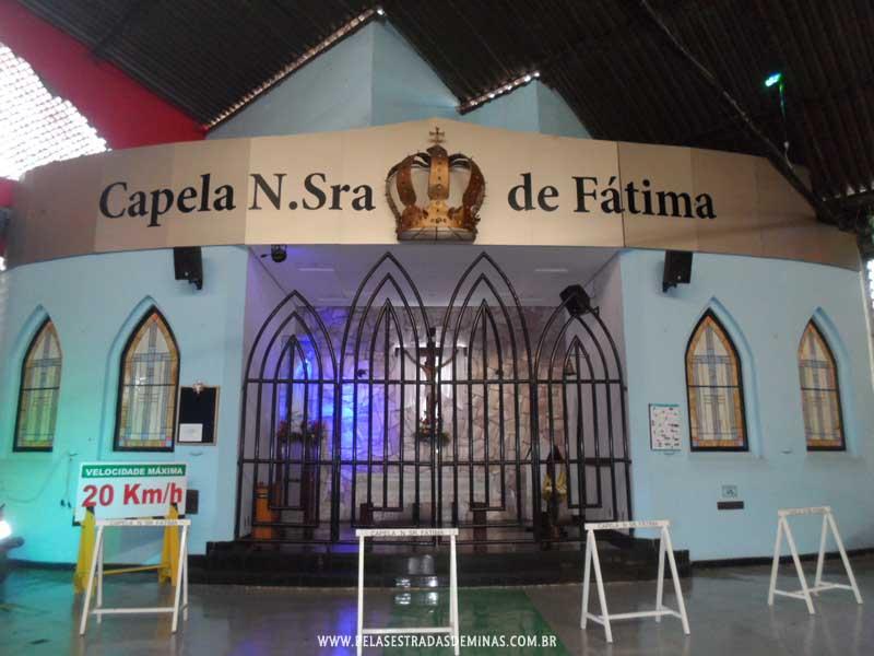 Foto: Capela de Nossa Senhora de Fátima - Mercado Central BH