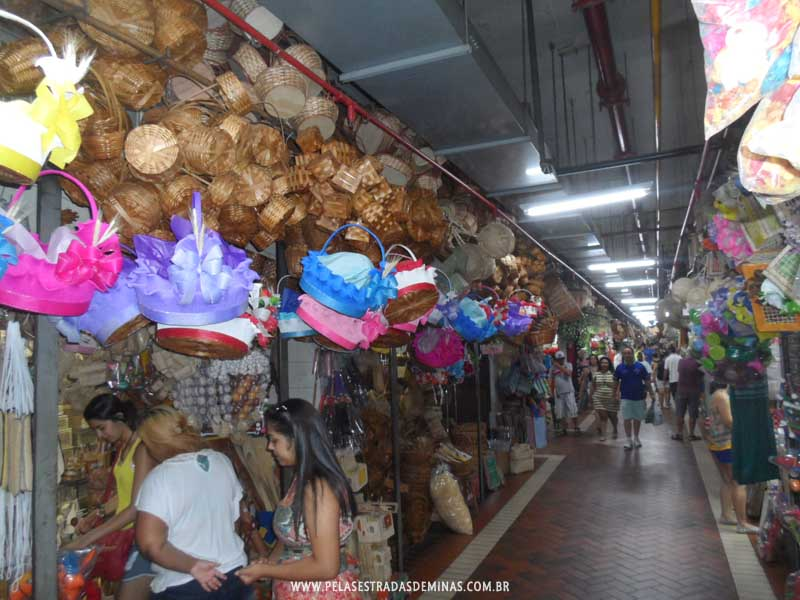 Foto: Corredores Artesanatos - Mercado Central de BH