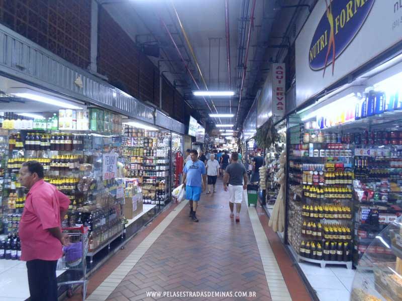 Foto: Corredores do Mercado Central de BH