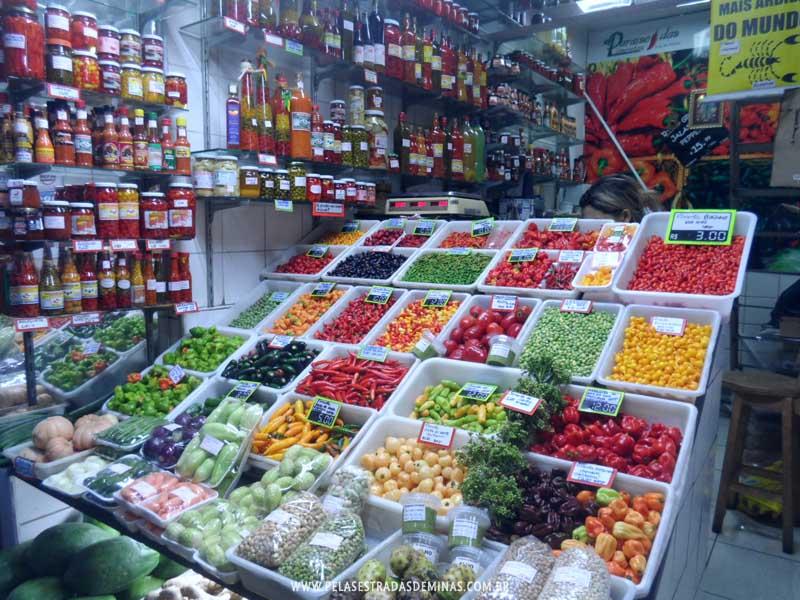 Foto: Pimentas - Mercado Central de BH