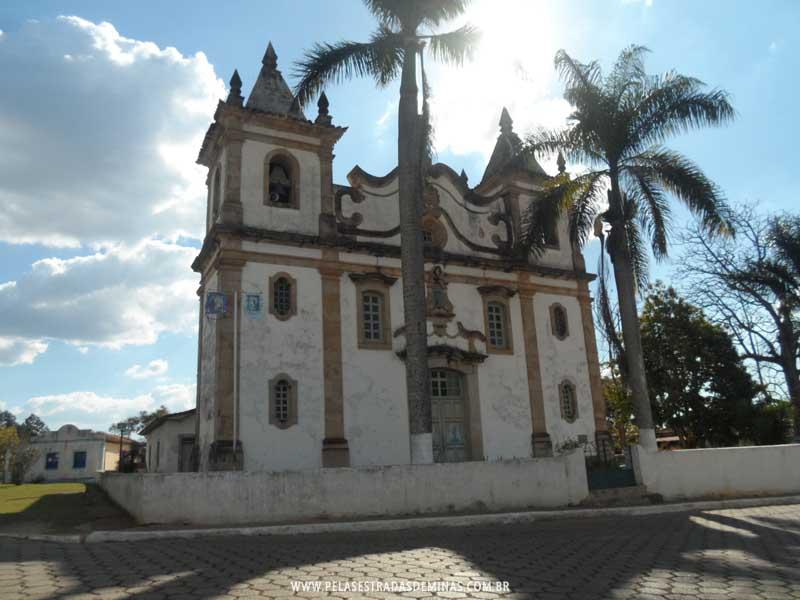 Foto: Igreja Matriz Santo Antônio - Glaura - Ouro Preto