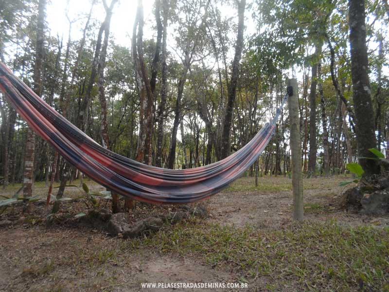 Foto: Rede no Bosque da Pousada Encantos de Glaura - Ouro Preto