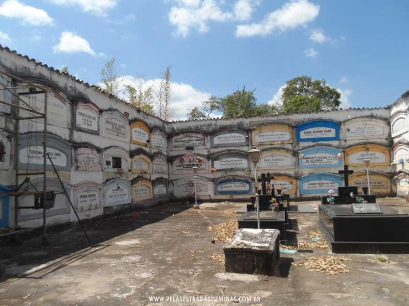 Foto: Sabará - MG - Cemitério do Carmo