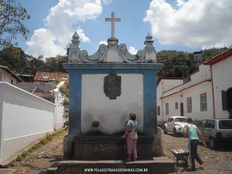 Foto: Sabará - MG - Chafariz do Kaquende
