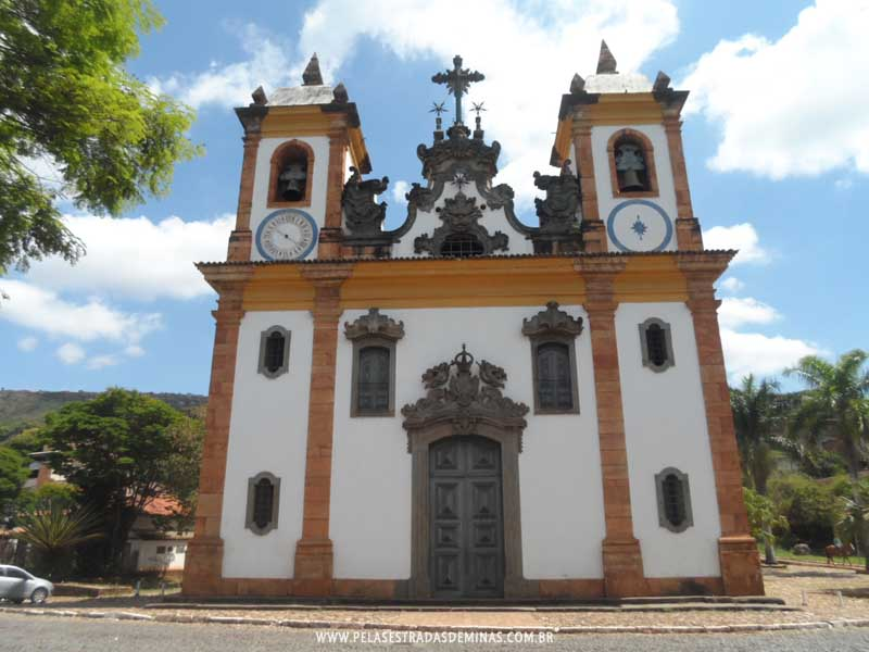 Foto: Sabará - MG - Igreja Matriz Nossa Senhora do Carmo