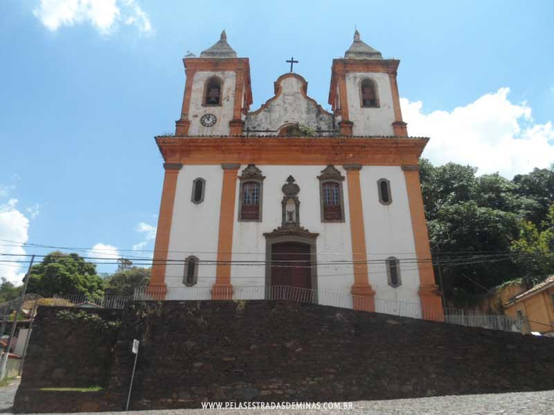 Foto: Sabará - MG - Igreja de São Francisco de Assis