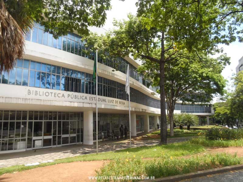 Foto: Circuito da Liberdade - Biblioteca Pública Estadual Luiz de Bessa