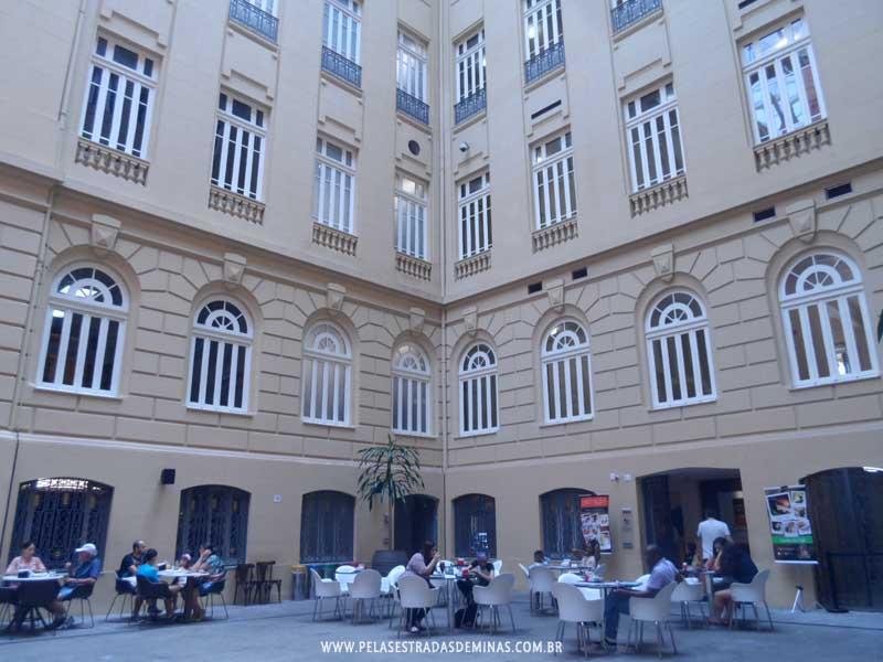 Foto: Circuito da Liberdade - Interior do Centro Cultural Banco do Brasil BH - CCBB-BH