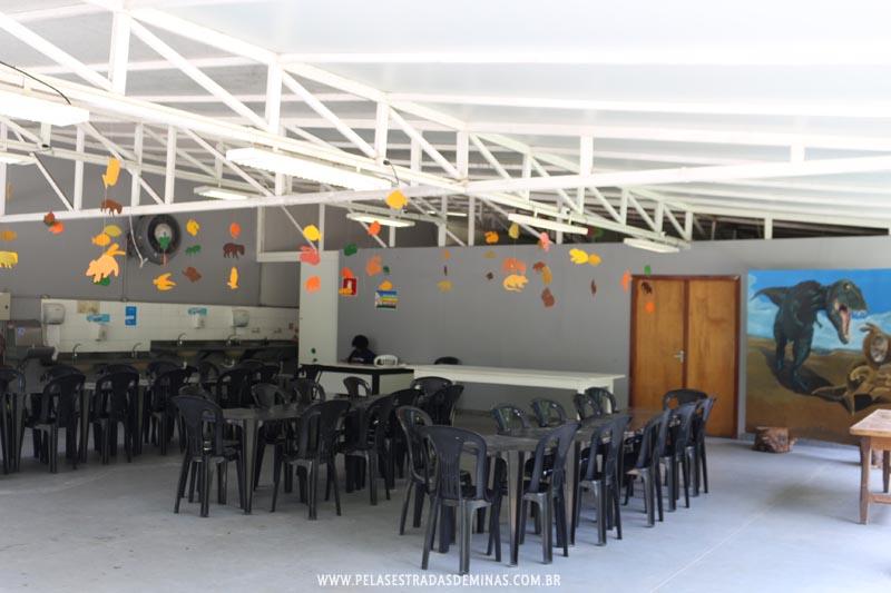 Área para recreação - Museu de Ciências Naturais da PUC Minas