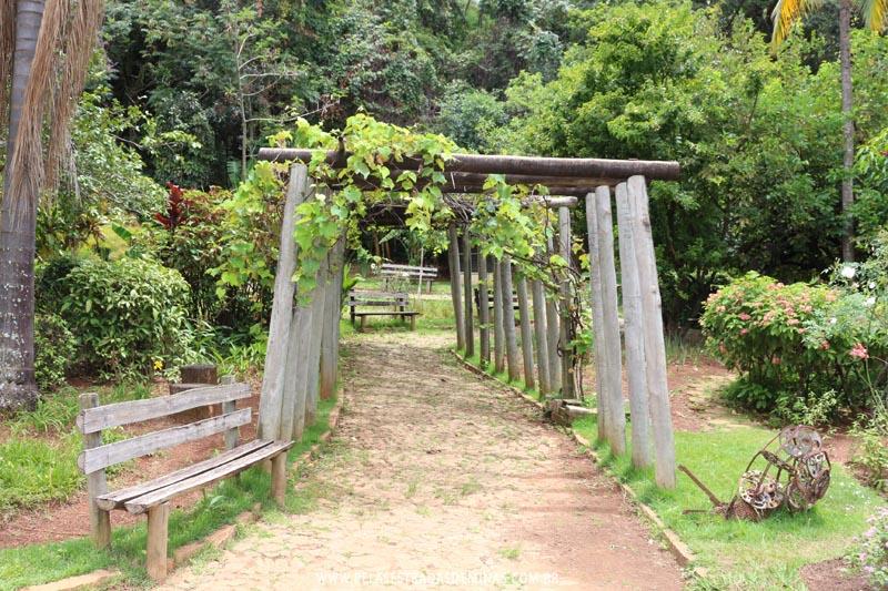 Jardim do Museu de Ciências Naturais da PUC Minas