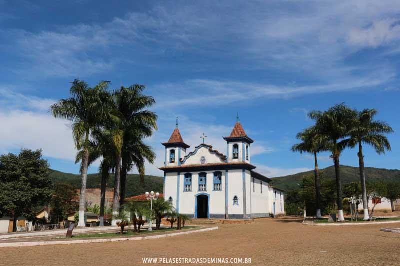 Igreja Nossa Senhora do Rosário - Praça do Rosário – Cocais-MG