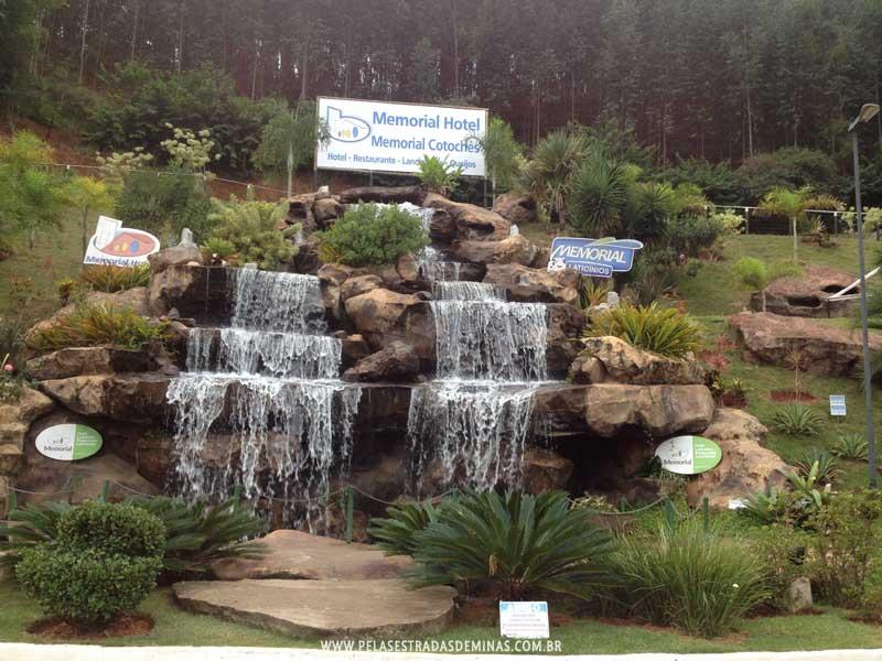 Cachoeira do Memorial Cotochés