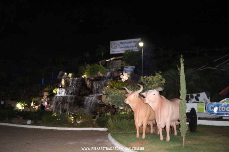 Cachoeira do Memorial Cotochés - Vacas