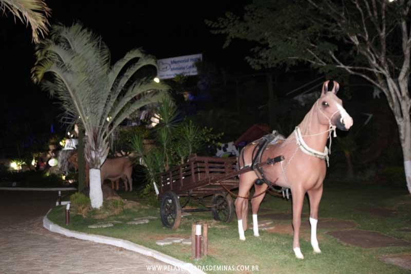Cavalo com carroça - Memorial Cotochés