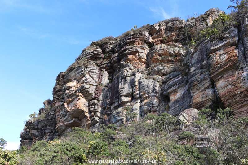 Paredões Sítio Pedra Pintada em Cocais-MG