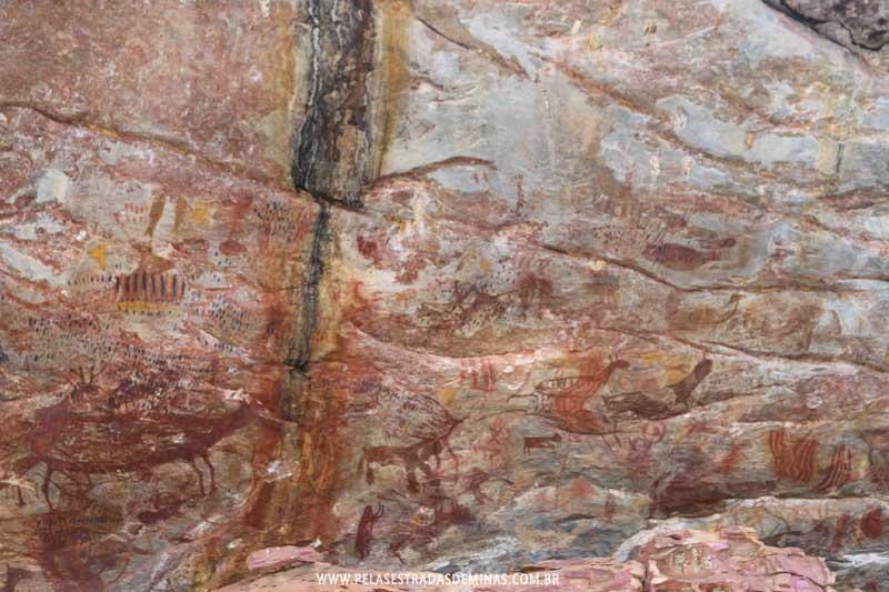 Sítio Arqueológico Pedra Pintada - Cocais - MG