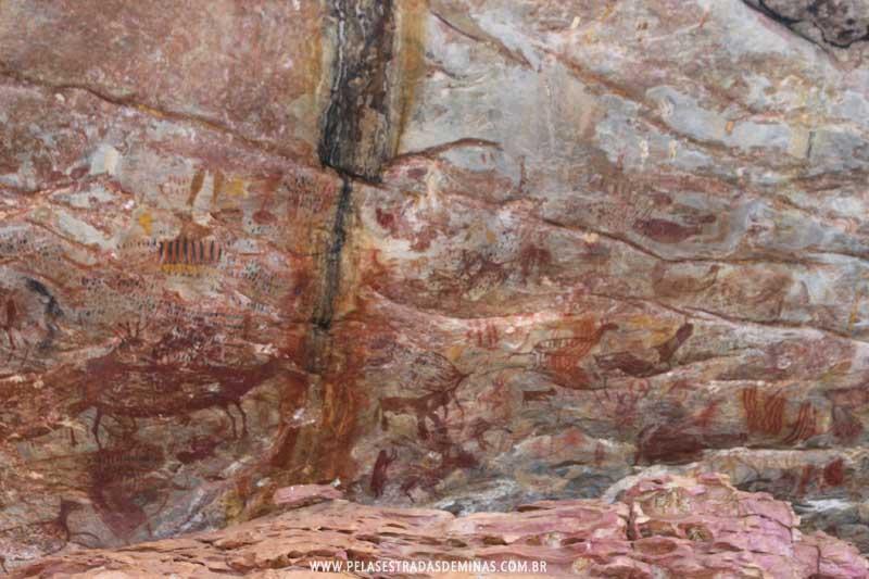 Sítio Arqueológico Pedra Pintada - Barão de Cocais, Cocais - MG