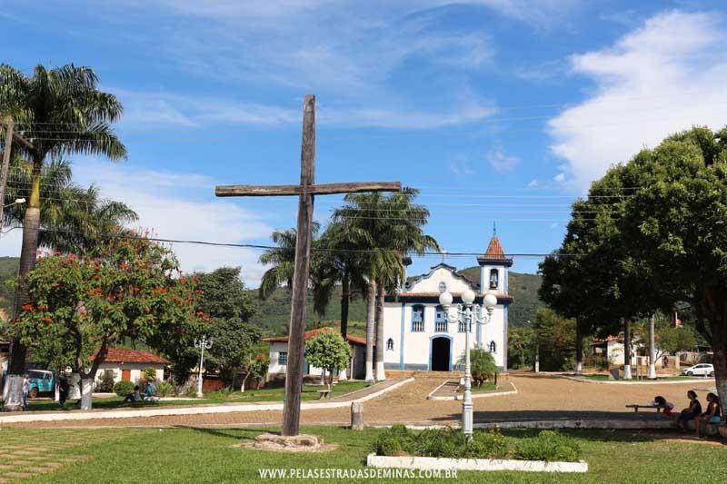 Praça do Rosário em Cocais - MG