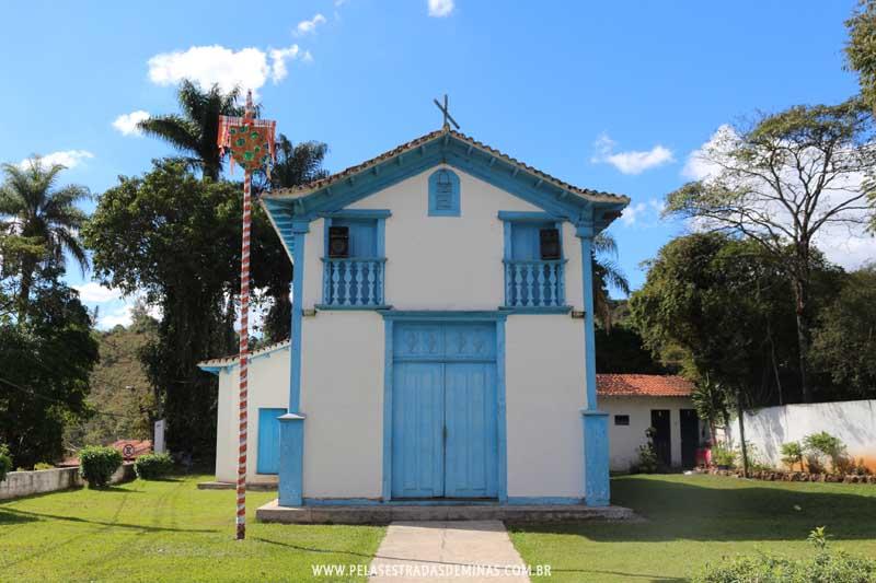 Igreja de São Sebastião - São Sebastião das Águas Claras - Macacos