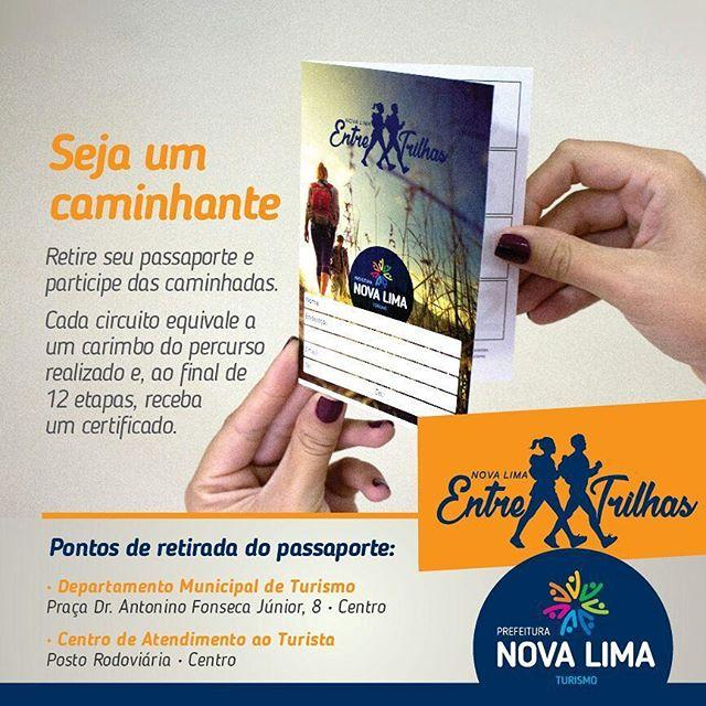 Passaporte Nova Lima Entre Trilhas