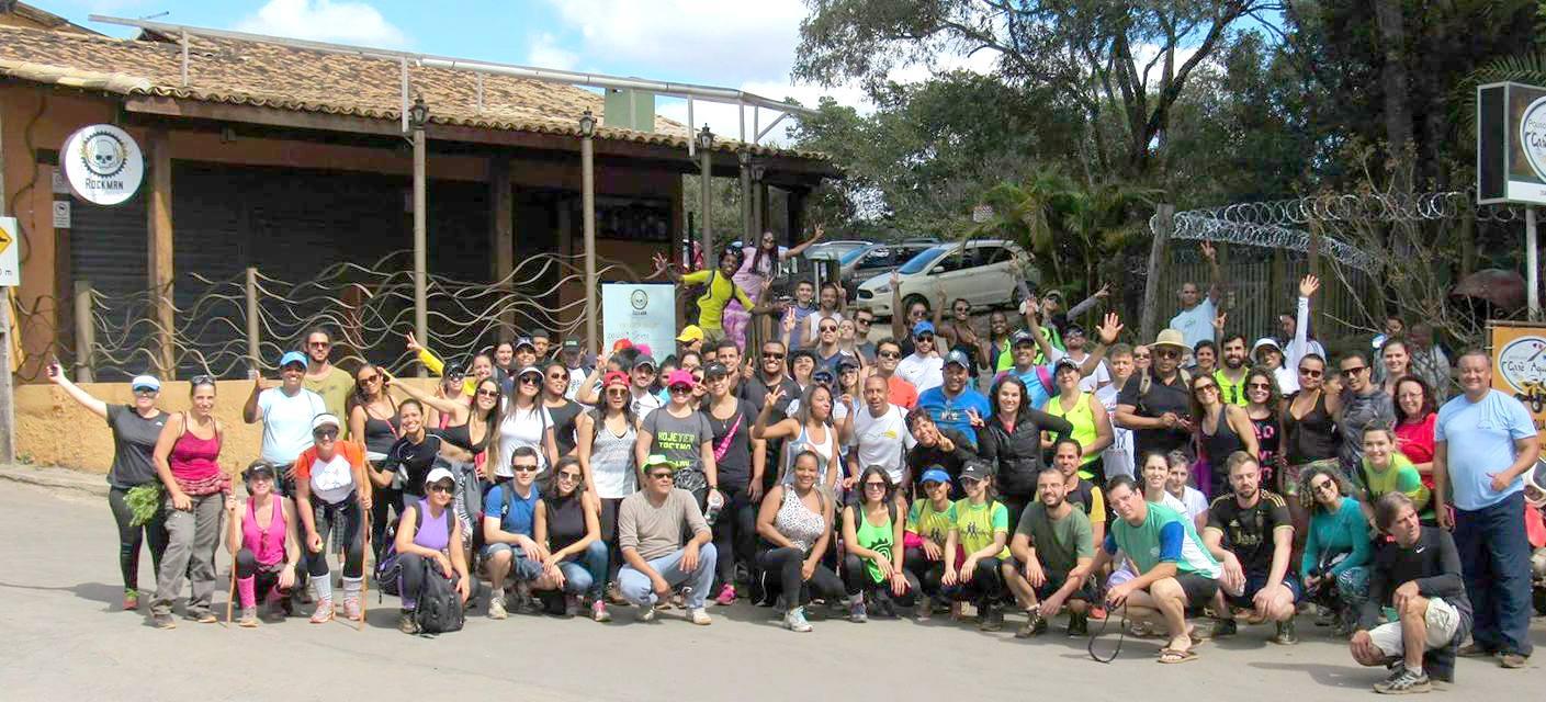 Participantes do Circuito Macacos / Trilha Marumbé - Projeto Nova Lima Entre Trilhas