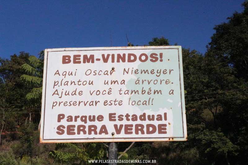 Parque Estadual Serra Verde - Árvore Oscar Niemeyer