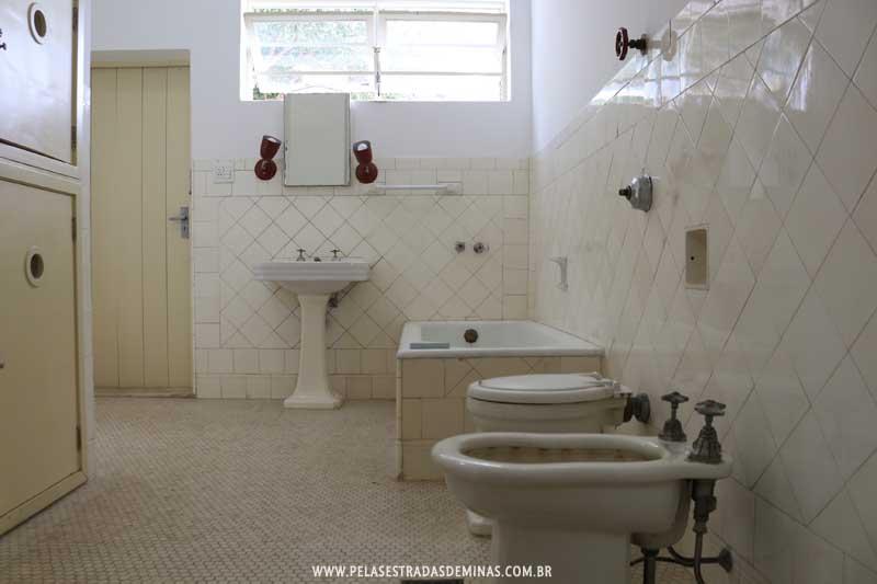 Museu Casa Kubitschek - Banheiro JK