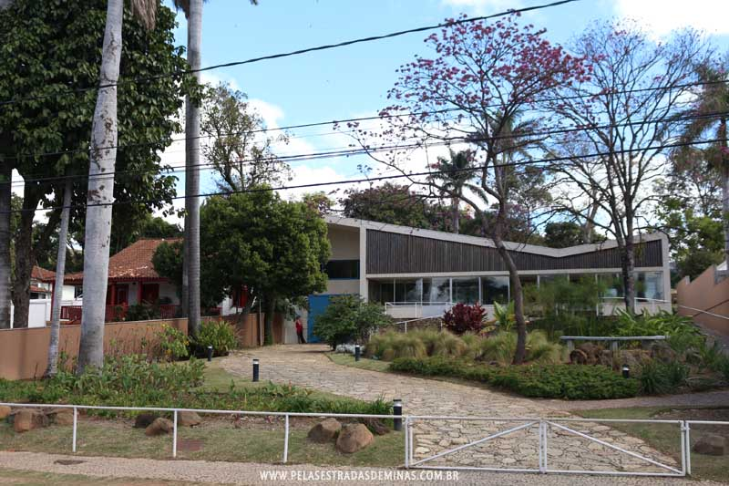 Museu Casa Kubitschek na Lagoa da Pampulha em Belo Horizonte