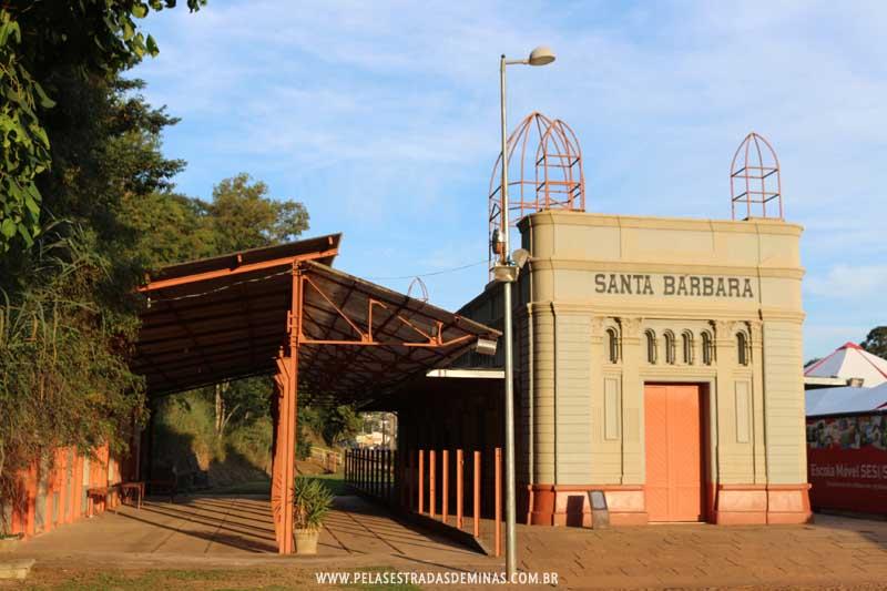 Antiga Estação de Santa Bárbara