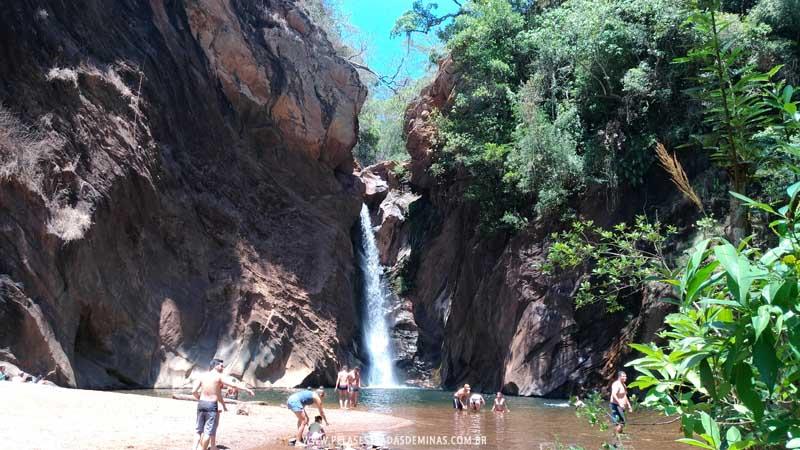 Cachoeira de Santo Antônio em Raposos - MG
