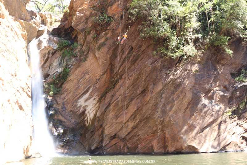 Rapel na Cachoeira Santo Antônio - Raposos-MG