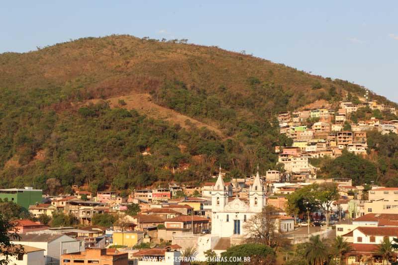Vista da Cidade de Raposos em Minas Gerais