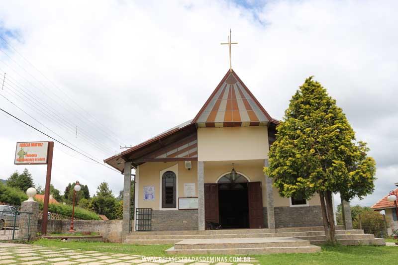 Igreja São Francisco de Assis - Monte Verde - MG