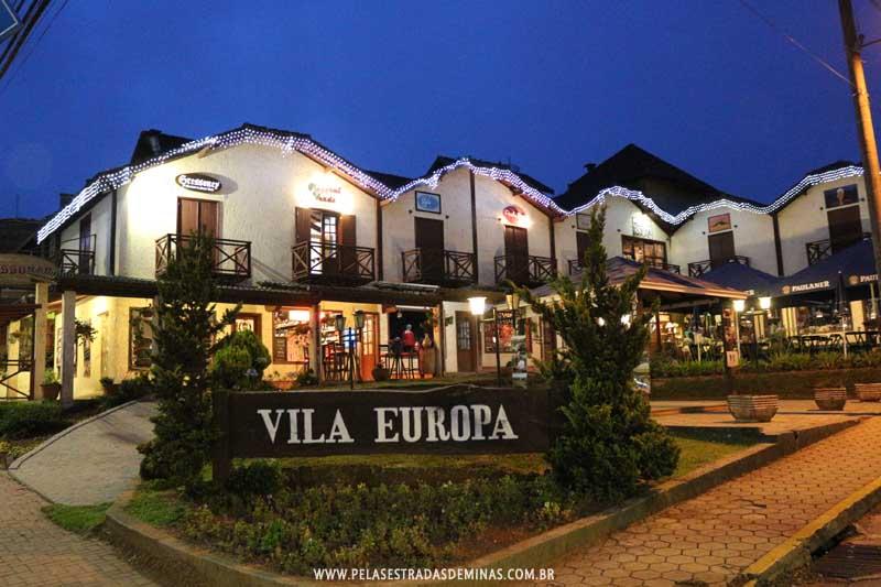 Vila Europa em Monte Verde - MG