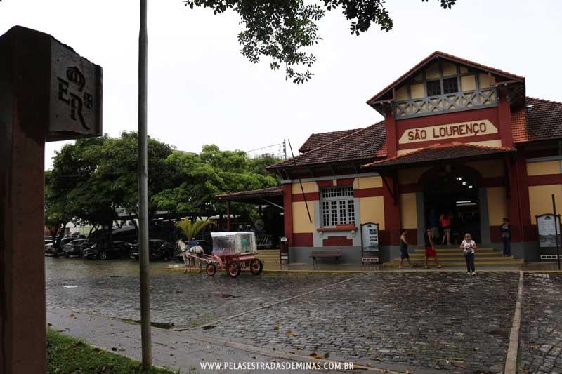 Estação São Lourenço - Estrada Real